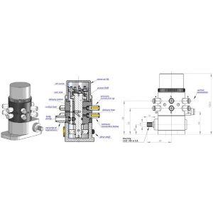 Pompa PMU, regulowana wydajność, możliwość uruchomienia do 12 wyjść
