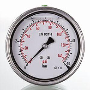 Manometr GMM 100 H przyłącze tylne