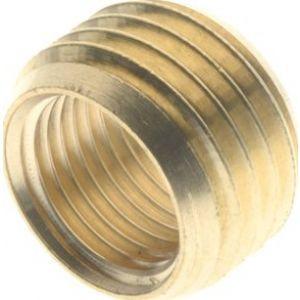 Pierścień redukcyjny, gwint cylindryczny, mosiądz niklowany