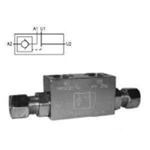 Zawór zwrotny sterowany typu WG normy DIN 2353