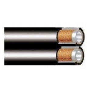 NYZ - wąż termoplastyczny zespolony z jednym oplotem z drutu stalowego