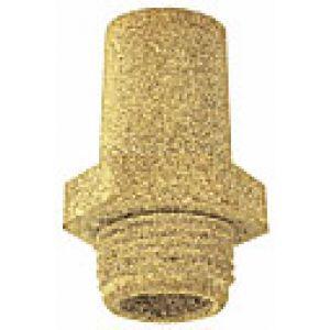 Tłumik hałasu stożkowy z sześciokątem pod klucz, spiek brązu
