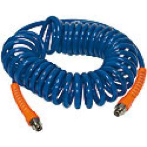 Kompletne węże spiralne z poliuretanu z obrotowymi końcówkami