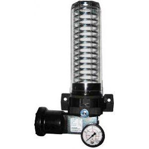 Pompa pneumatyczna ze zbiornikiem 2,5, 5 oraz 10 litrów, opcjonalnie kontrola niskiego poziomu środka smarnego