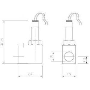 Czujnik indukcyjny do rozdzielacza DPA/SSV PG/SSV PG-K
