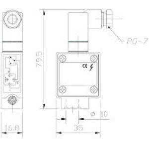 Mikrowyłącznik do rozdzielacza DPA
