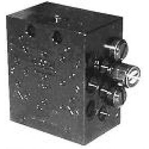 Progresywny rozdzielacz z regulowaną wydajnością i trzpieniem wskaźnikowym typu SSV-D-K