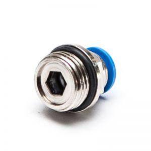 Złączka wtykowa prosta z gwintem zewnętrznym (o-ring)