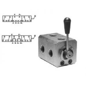 Wysokociśnieniowy zawór przełączający 6 - drogowy otwarty lub zamknięty w poz. środkowej