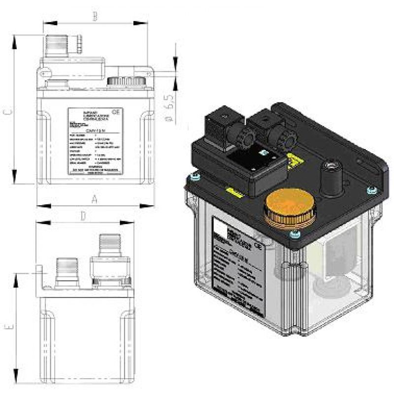 Elektryczna pompa CM-V, B132