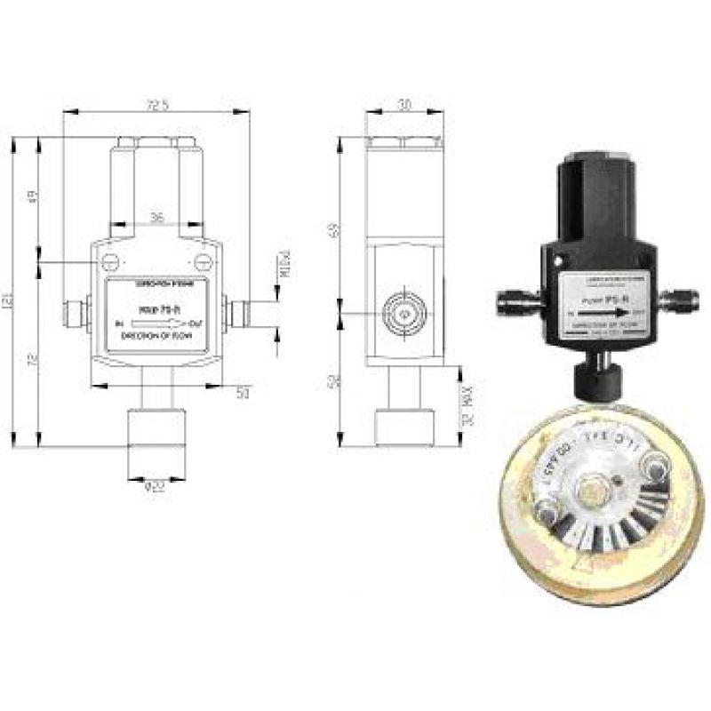 Mimośrodowa pompa PS-R