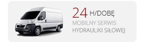 Serwis hydrauliki siłowej 24h/dobę